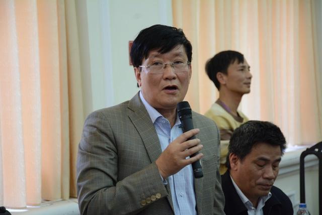 PGS.TS Mai Sỹ Tuấn, thành viên Ban Phát triển chương trình GDPT