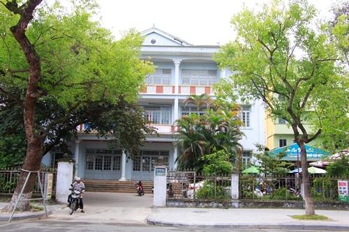 Trụ sở Hội Nhà báo tỉnh Thừa Thiên Huế cũng sẽ di dời. Ảnh: Võ Thạnh