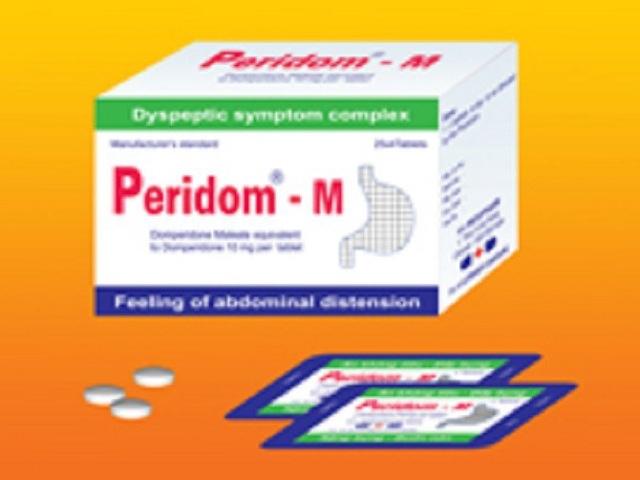 Peridom - M thuộc nhóm thuốc đường tiêu hóa (Hình minh họa)