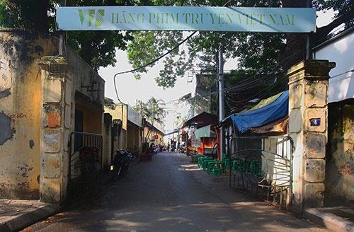 Trụ sở hãng phim truyện Việt Nam - nơi xảy ra nhiều sai phạm trong vấn đề cổ phần hóa.Ảnh: Ngọc Thành.