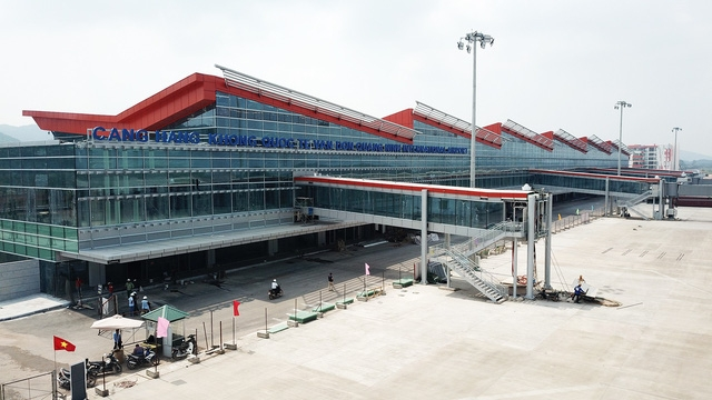 Cảng Hàng không quốc tế Vân Đồn đã hoàn thành, dự kiến đưa vào khai thác vào cuối năm 2018