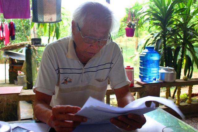 Cụ giáo làng Phan Chí Nhượng gần 15 năm mở lớp học miễn phí cho học sinh nghèo miền núi