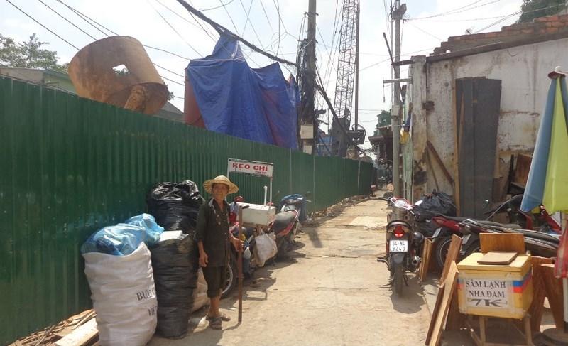 Lao dầm nhánh cuối cùng của cầu vượt ngã 7 Phạm Văn Đồng - ảnh 7