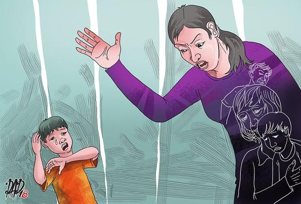 Trút giận lên đầu đứa trẻ - Ảnh 1.