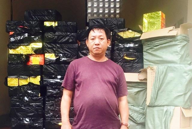 Lái xe Huỳnh Minh Toàn khai vận chuyển số lượng pháo này từ biên giới phía Bắc đem về bán kiếm lời.