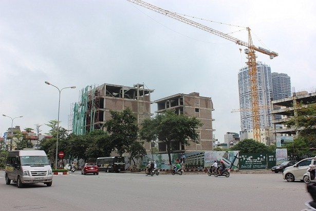Dự án Khu nhà phố Wall (quận Cầu Giấy, Hà Nội).