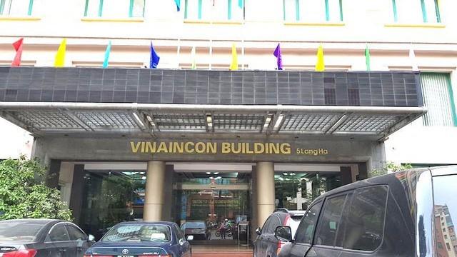 PV Dân trí tiếp tục đến trụ sở Tổng công ty công nghiệp xây dựng Việt Nam tại số 5 Láng Hạ (Đống Đa - Hà Nội) để liên hệ làm việc nhưng cũng không nhận được hồi âm.