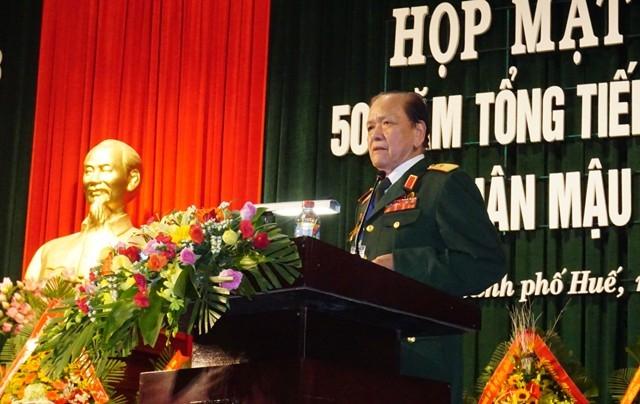 Thiếu tướng Võ Văn Chót - nguyên Phó Tư lệnh Quân khu 4: Cuộc hành quân là sự tri ân của những người còn sống hướng về đồng bào, đồng chí, đồng đội đã mãi mãi nằm lại mảnh đất khói lửa Trị - Thiên Huế