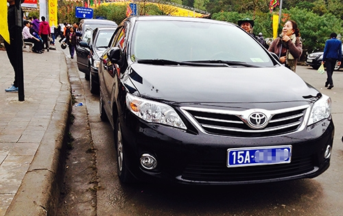 Thứ trưởng, Chủ tịch tỉnh... có tiêu chuẩn ôtô đưa đón với giá tối đa920 triệu đồng mỗi xe. Ảnh minh hoạ: Quỳnh Trang.