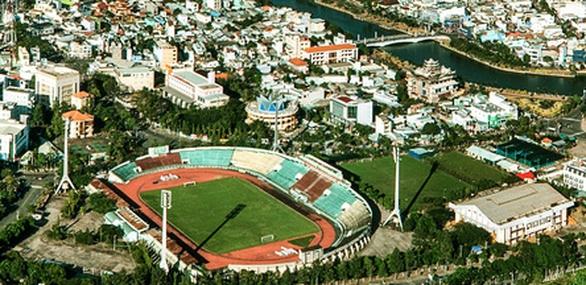 Long An bán đấu giá khu đất sân vận động để xây sân vận động mới - Ảnh 1.