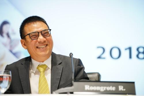 Ông Roongrote Rangsiyopash - Chủ tịch kiêm Giám đốc điều hành SCG.