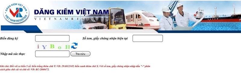 Cục Đăng kiểm Việt Nam hướng dẫn kiểm tra phạt nguội ô tô - ảnh 1