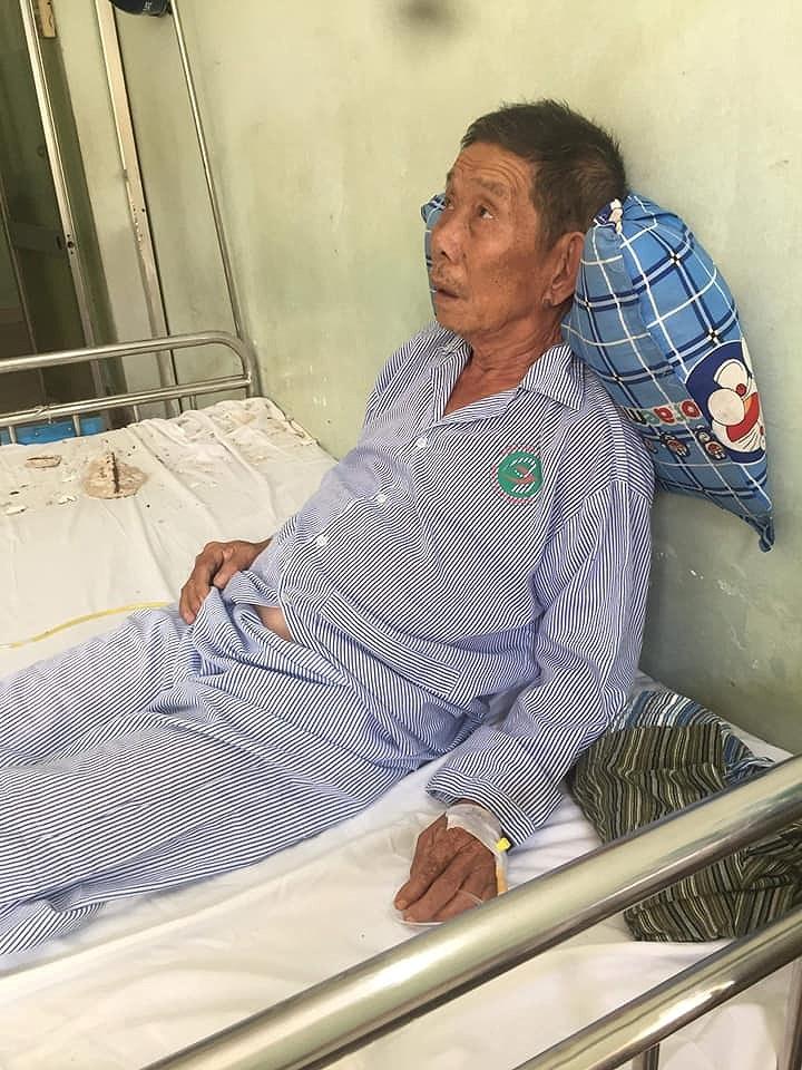 Bê tông rơi trúng giường bệnh nhân đang điều trị - ảnh 2