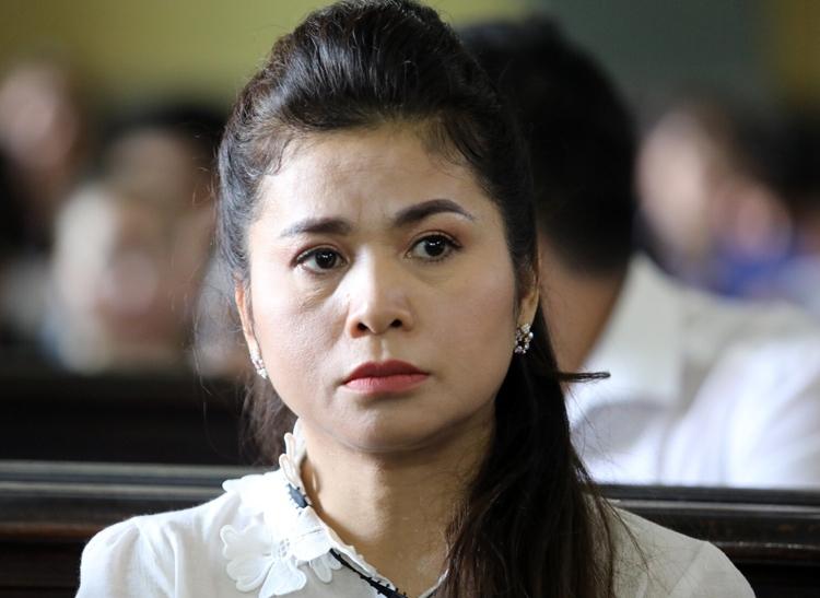 Bà Thảo tại tòa chiều nay. Ảnh: Thành Nguyễn.