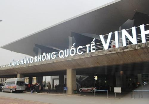 Sân bay Vinh, nơi xảy ra sự việc. Ảnh: Xuân Hoa.