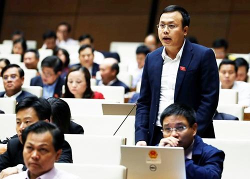 Ông Phạm Quang Thanh phát biểu tại tại Quốc hội cuối năm 2016. Ảnh: Quochoi.vn