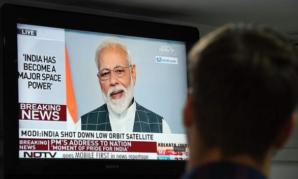 Trạm không gian quốc tế bị đe dọa do Ấn Độ bắn hạ vệ tinh - Ảnh 2.