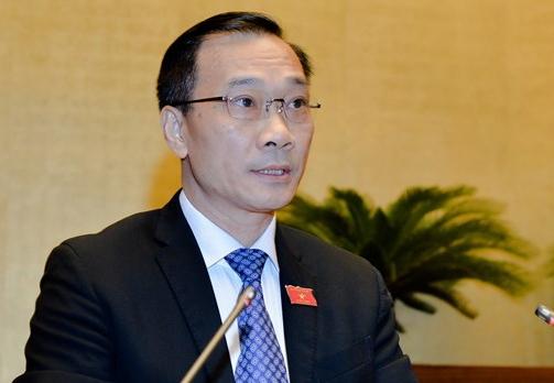Chủ nhiệm Uỷ ban Kinh tế Vũ Hồng Thanh. Ảnh: Trung tâm báo chí QH