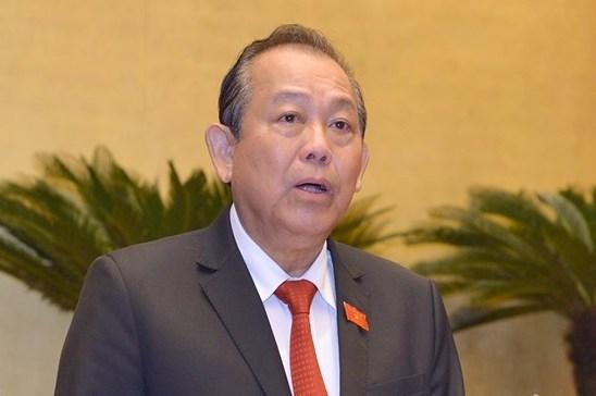 Phó thủ tướng Trương Hoà Bình. Ảnh: Hoàng Phong