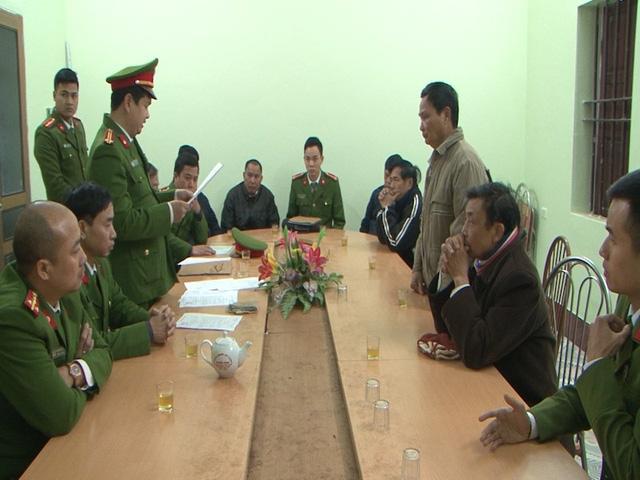 Nguyên các cán bộ xã Yên ThắngThắng, huyện Ý Yên bị bắt tạm giam để điều tra hành vi bán đất trái thẩm quyền
