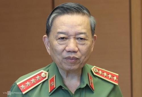 Bộ trưởng Công an - Đại tướng Tô Lâm. Ảnh: Võ Hải
