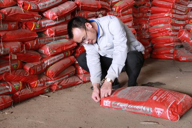 Gần 200 tấn phân bón kém chất lượng, hết hạn dùng bị tiêu hủy