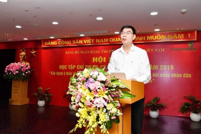 Vietcombank tổ chức Hội nghị học tập Chỉ thị 05/TW - ảnh 1