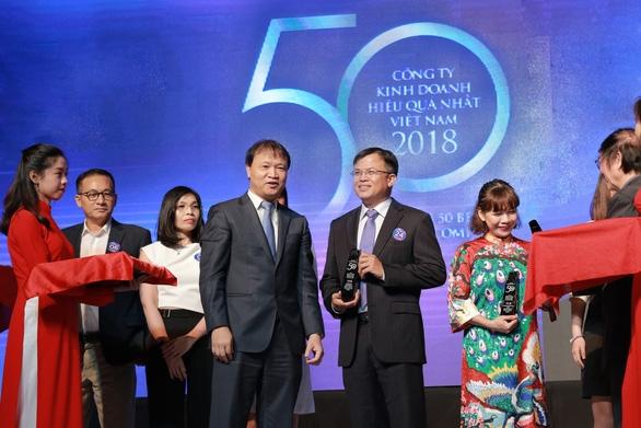 VPBank nằm trong top 50 công ty kinh doanh hiệu quả nhất - Ảnh 1.