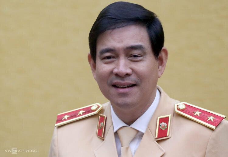 Trung tướng Vũ Đỗ Anh Dũng, Cục trưởng Cục CSGT-Bộ Công an. Ảnh: Bá Đô