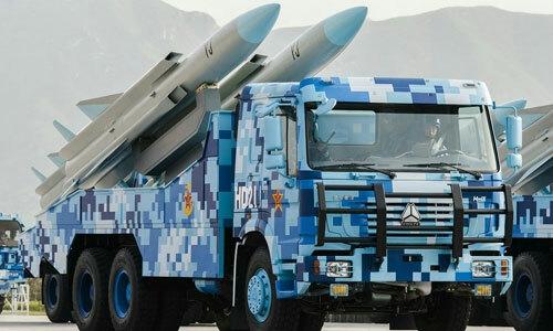 Một loại tên lửa chống hạm của Trung Quốc. Ảnh: 81.cn.