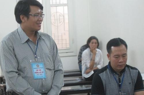 Bị cáo Hưng (trái) và Cảnh.