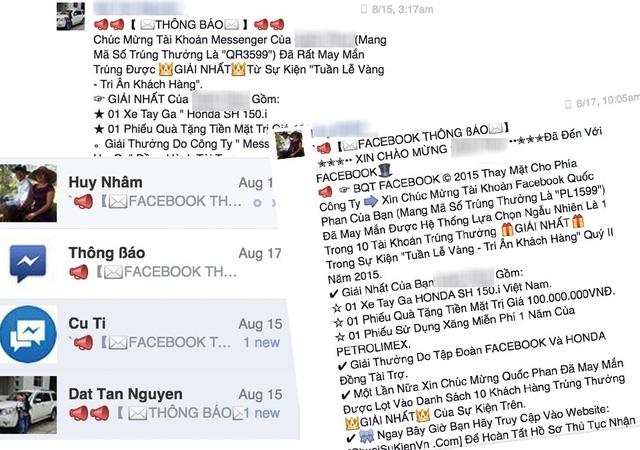 Lừa đảo bủa vây trên Facebook