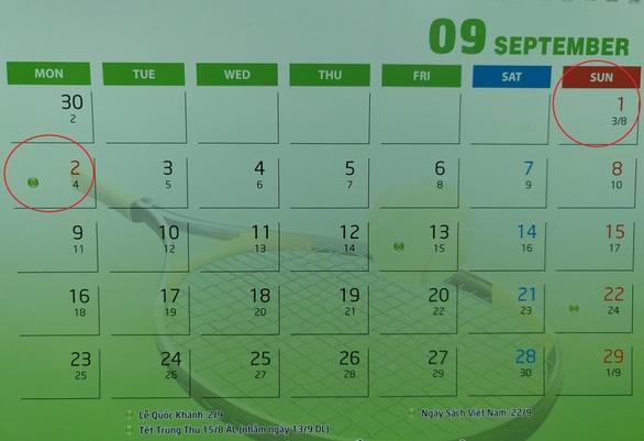 Dịp 2/9 người lao động được nghỉ liền mạch 2-3 ngày - Ảnh 1.