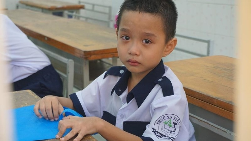 1001 cung bậc cảm xúc của học sinh lớp 1 trong ngày tựu trường - ảnh 10