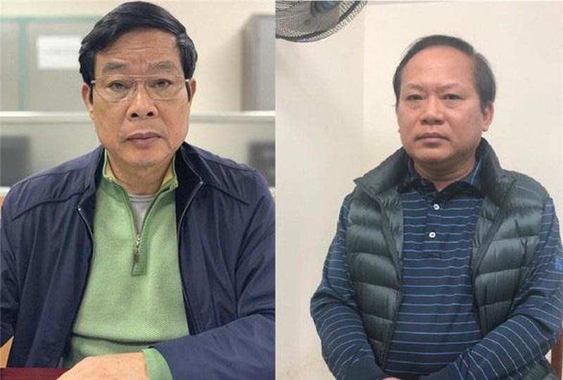 Hai cựu bộ trưởng nhận hối lộ 3,2 triệu USD của Phạm Nhật Vũ  - ảnh 1