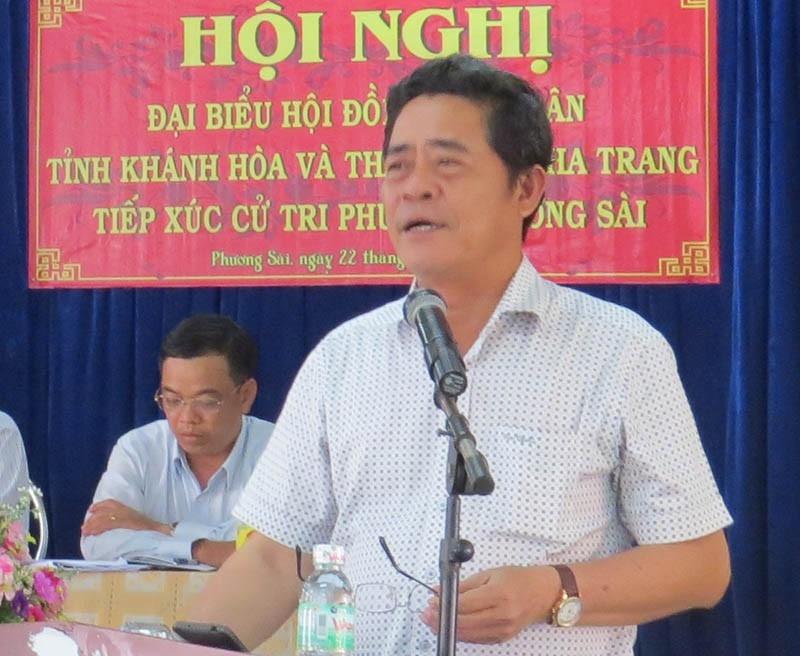 Chủ tịch tỉnh Khánh Hòa tự nhận mức kỷ luật cảnh cáo - ảnh 3