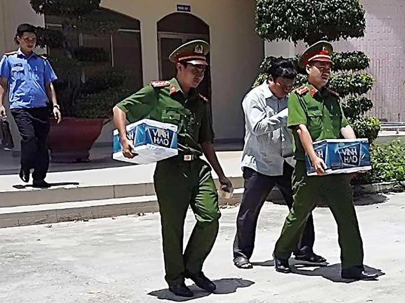 Phó chủ tịch, trưởng Phòng TN&MT TP Phan Thiết bị bắt - ảnh 1