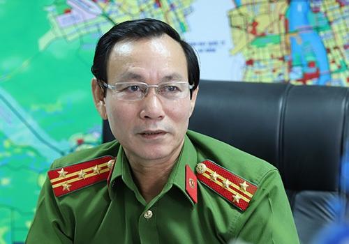 Đại tá Trần Thanh Nhơn khẳng định cảnh sát môi trường sẽ xử lý nghiêm những trường hợp vi phạm tiếng ồn. Ảnh: Nguyễn Đông.