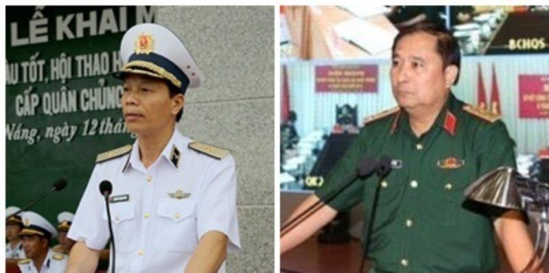 Bổ nhiệm hai tân Phó Tổng Tham mưu trưởng Quân đội Nhân dân VN - ảnh 1