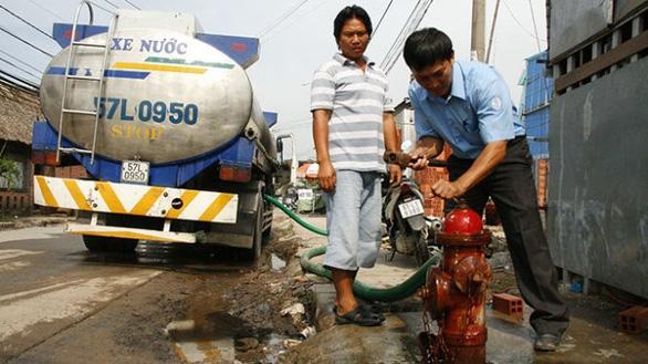 TP.HCM đề xuất tăng giá nước sinh hoạt - Ảnh 1.