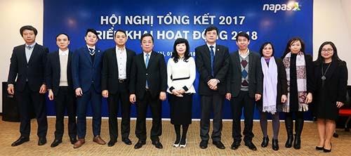 Công ty CP Thanh toán Quốc gia Việt Nam (Napas) vừa tổ chức hội nghị tổng kết 2017 và triển khai hoạt động 2018 vào ngày 1/2 tại Hà Nội.