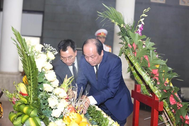 Dòng người nghẹn ngào tiễn biệt Thứ trưởng Lê Hải An - ảnh 3