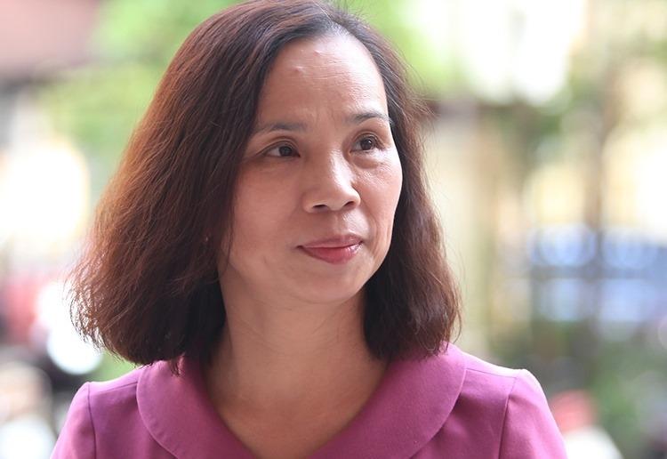 Bà Triệu Thị Chính. Ảnh: Phạm Dự