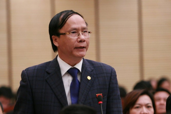 HĐND Hà Nội miễn nhiệm trưởng ban Pháp chế hay chất vấn Nguyễn Hoài Nam - Ảnh 2.