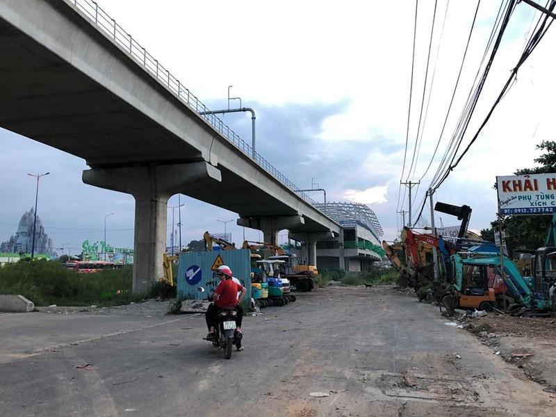 Chùm ảnh: 10 năm khổ vì dự án mở rộng Xa lộ Hà Nội - ảnh 8