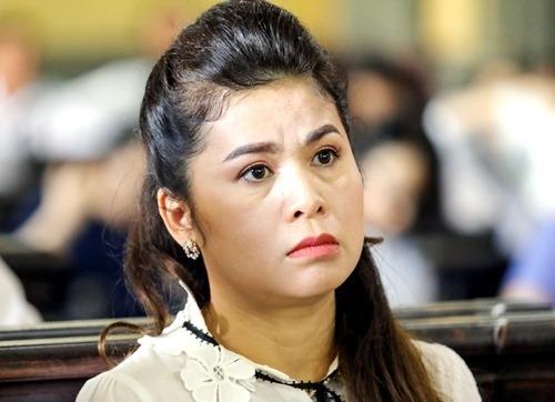 Bà Thảo tại tòa sơ thẩm hồi tháng 3. Ảnh: Thành Nguyễn.