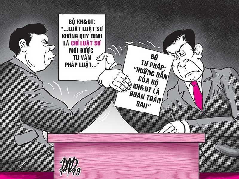Tranh cãi giữa hai bộ Tư pháp - KH&ĐT sắp ngã ngũ - ảnh 1