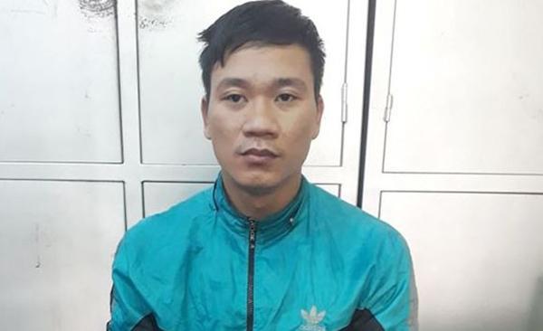 Nghi can Phạm Văn Hậu. Ảnh: Lam Sơn.