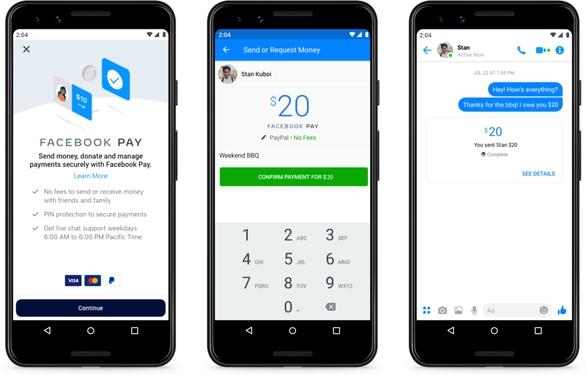 Facebook hợp nhất dịch vụ thanh toán trên các ứng dụng với Facebook Pay - Ảnh 1.