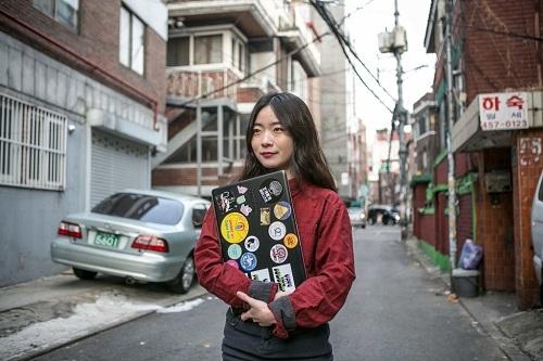 Lee Na-yeon luôn cảm thấy tội lỗi vì phá thai và vi phạm pháp luật. Cô muốn bãi bỏ luật cấm phá thai để không còn mặc cảm. Ảnh: NYT.